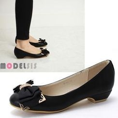 MODELSIS - Ribbon-Accent Flats