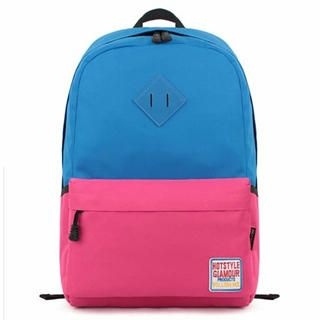 Mr.ace Homme - Contrast-Color Nylon Backpack