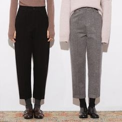 Heynew - Plain Knit Pants