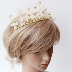 constello - Baby's Breath Headpiece