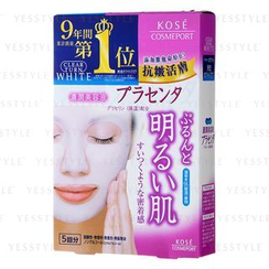 Kose - Clear Turn Whitening Placenta Mask
