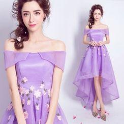 Angel Bridal - 長尾飾花小禮服