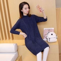 Aigan - Cable-Knit Sweater Dress