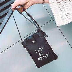 BAGuette - Lettering Crossbody Bag