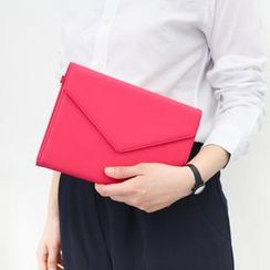 iswas - Snap-Button Envelope Clutch