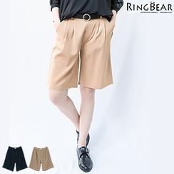 RingBear - Pleated Shorts