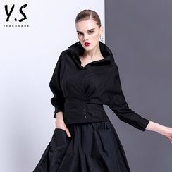 Y:Q - Plain Batwing-Sleeve Shirt