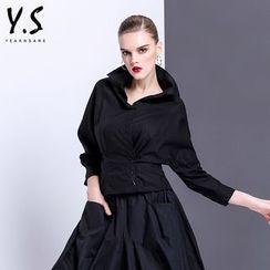 Y:Q - 純色蝙蝠袖襯衫