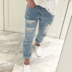 Honeydew - Distressed Jeans