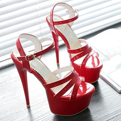 Sidewalk - Platform Stiletto Sandals