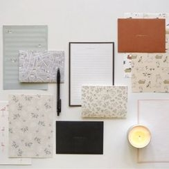 Full House - daily like - Set: Printed Letter Paper + Envelope