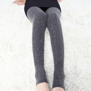Ando Store - Wool-Blend Stirrup Leggings