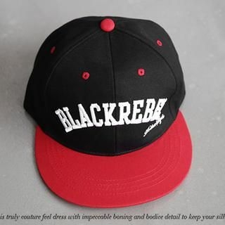 NANING9 - Color-Block Embroidered Baseball Cap