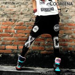 Cooreena - Lettering Harem Pants
