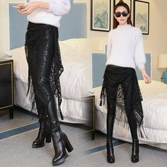 Fancy Show - Inset Skirt Leggings