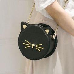 Axixi - Cat-Print Cross Bag