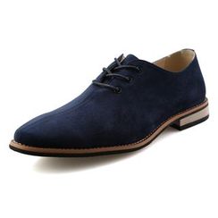 NOVO - Faux Suede Oxford Shoes