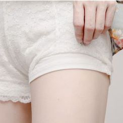 MITU - Lace Under Shorts