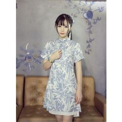 GOGO Girl - Chiffon Panel Dress
