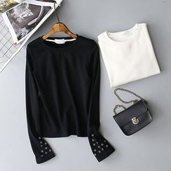 Tulander - Studded Long-Sleeve T-Shirt