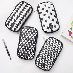 BABOSARANG - Geometric Pattern Pencil Pouch
