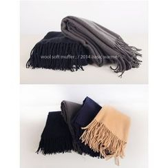 J.ellpe - 羊毛混紡圍巾