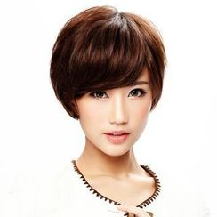 Wigs2You - Hand Tied Human Hair - Short Full Wig