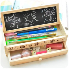 Momoi - Wooden Pencil Case