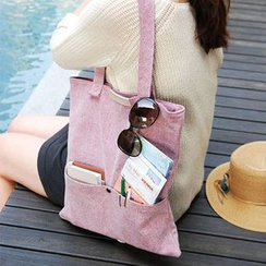 BABOSARANG - 口袋邊輕形購物袋