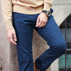 WOOD SOON - Plain Cotton Pants