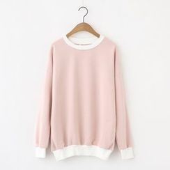 Meimei - Color Block Sweatshirt