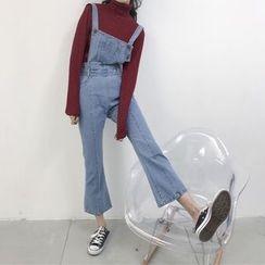 Dasim - 靴形背带牛仔裤