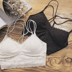 MayFair - Lace Strappy Bra Top