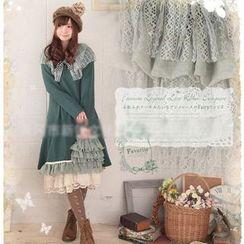 Nectarine - Long-Sleeve Paneled Dress