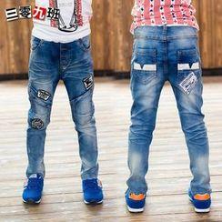 三零九班 - 小童貼布繡牛仔褲