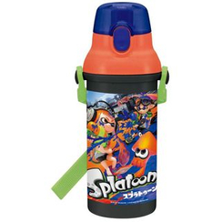 Skater - Splatoon Push One Water Bottle 480ml