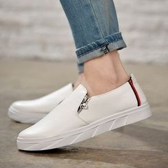 Rizmond - Faux Leather Slip Ons