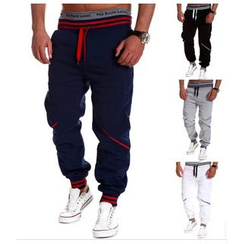 Hansel - Drawstring Panel Sweatpants