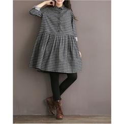 Clover Dream - 格紋襯衫裙