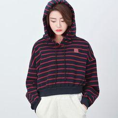 BORAN - Striped Hoodie