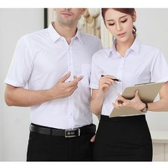 Caroe - Couple Matching Short-Sleeve Shirt