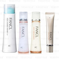 Fancl - Daily Care Set (Aging Care Line II) (4 items): Washing Powder 50g + Lotion 30ml + Emulsion 30ml + Cream 18g