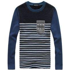 uninukoo - Striped Long-Sleeve T-Shirt