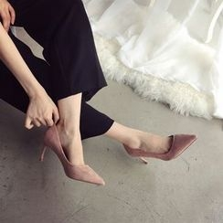Linda Lane - 仿麂皮高跟鞋