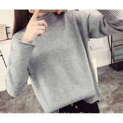 Emeline - Mock Neck Sweater