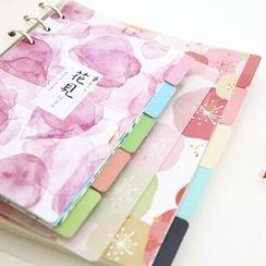 Cute Essentials - Floral Print Schedule Divider