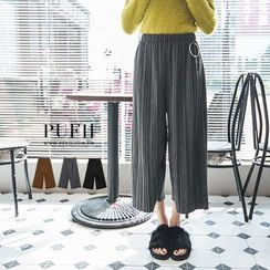 PUFII - Pleated Pants