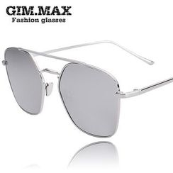 GIMMAX Glasses - Double Bar Mirrored Sunglasses