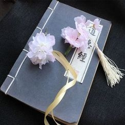Rivermoon - 花形吊苏发夹
