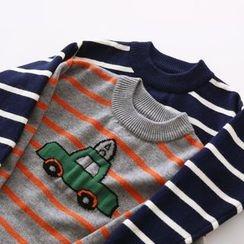 Bonbon - Striped Sweater